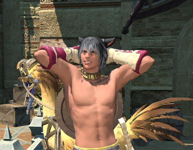 Final Fantasy XIV gay matrimonio