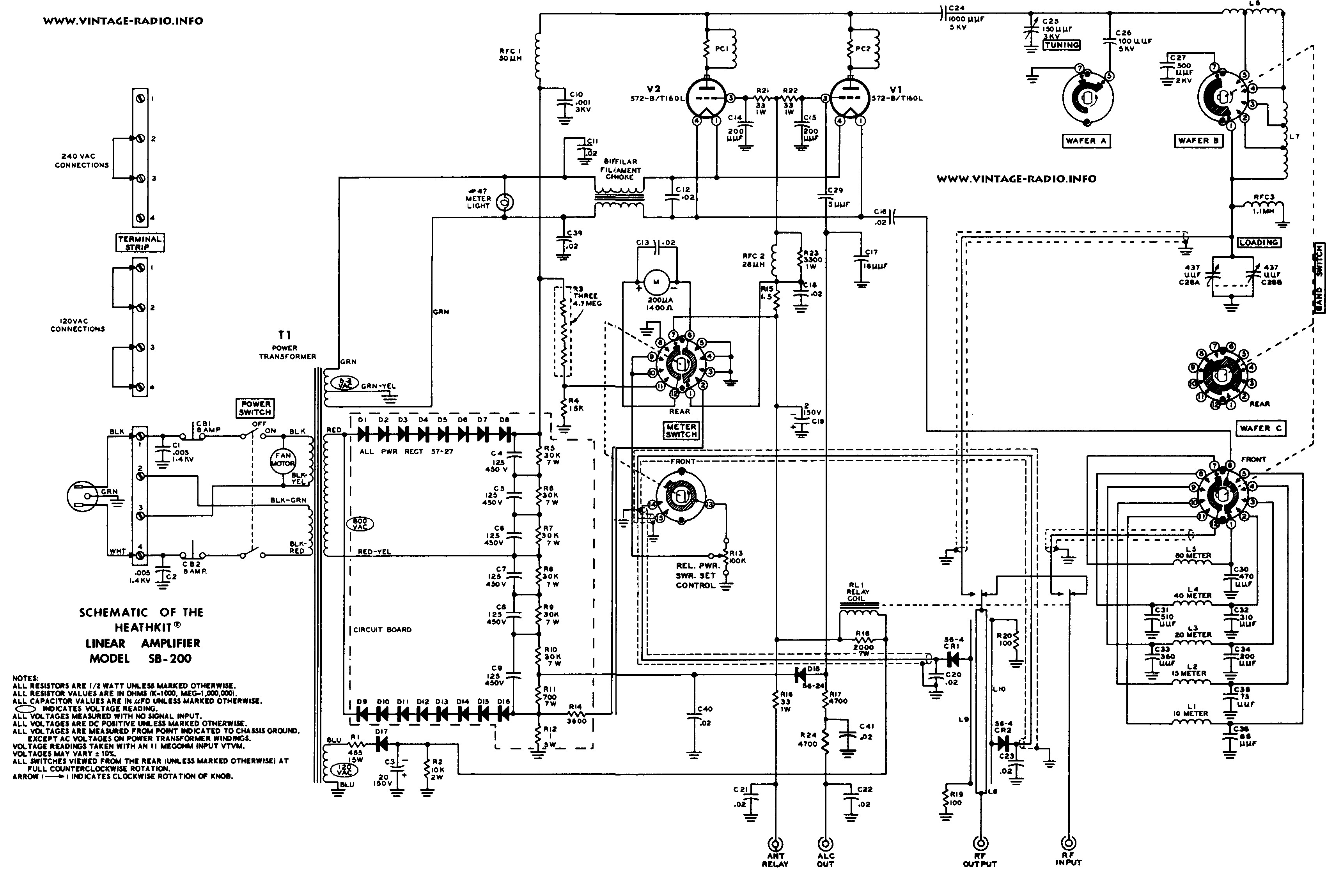 4cx250b Amplifier Schematic