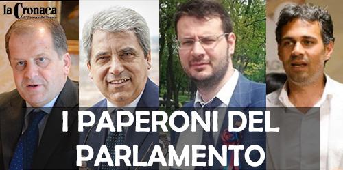 I PAPERONI DEL PARLAMENTO