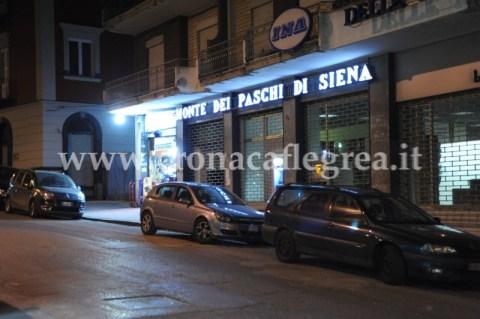 La filiale del Monte Paschi Siena di via Pergolesi