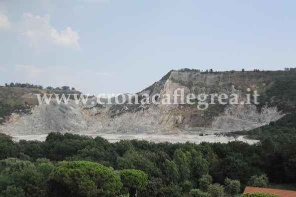 Il vulcano Solfatara