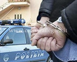 Dopo l'evasione l'uomo è stato arrestato dalla Polizia