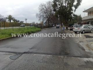 Via dei Platani a Licola Borgo