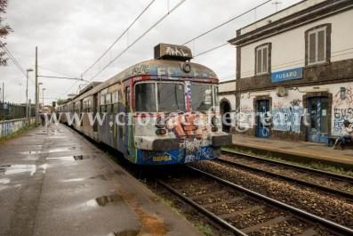 La stazione ferroviaria di Fusaro