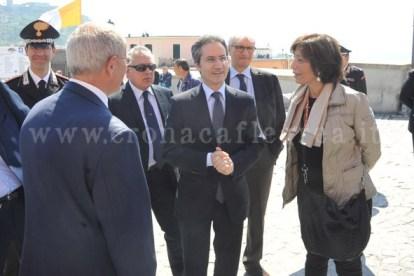 Il Presidente della Regione Campania Stefano Caldoro