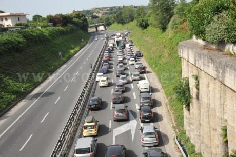 Variante Anas bloccata dopo il grave incidente stradale