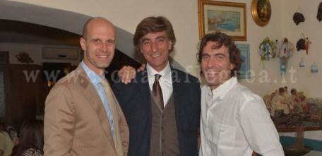 Da sinistra: Ballabio, Lubrano e Ponti jr