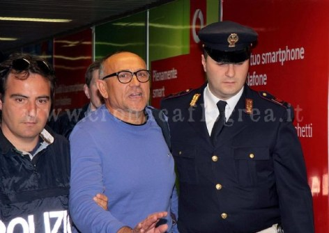 il boss Giuseppe Polverino appena estradato in Italia,