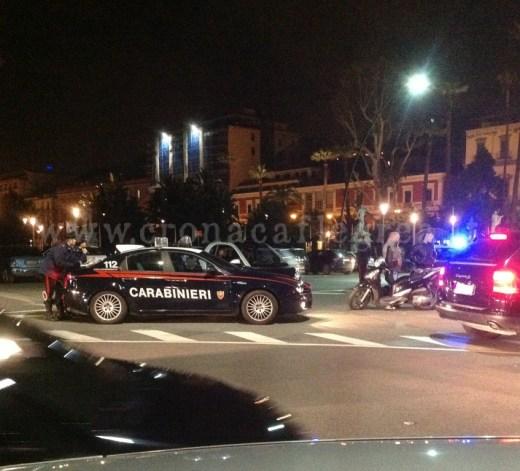 Controlli notturni da parte dell'arma dei carabinieri