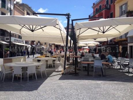 I tavolini in piazza della Repubblica