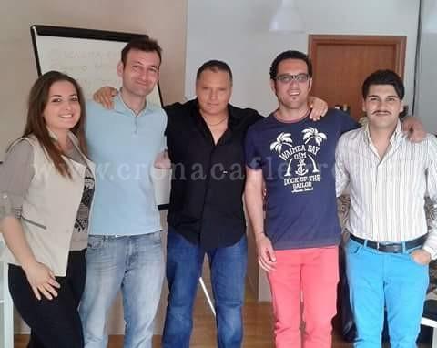 Il gruppo del professor Maurizio Cauli