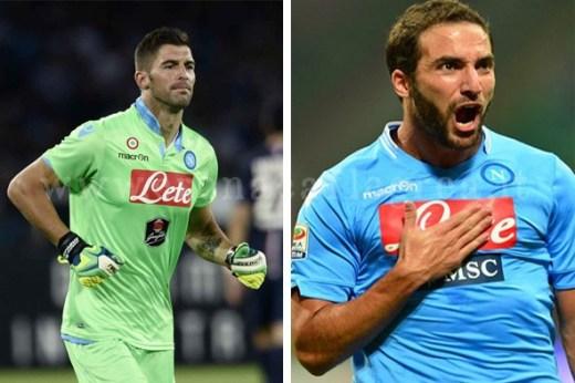 I due calciatori aggrediti