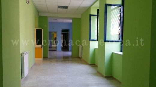 Gli interni della scuola