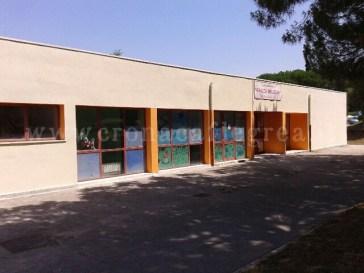 La scuola Deledda dove nascerà l'asilo nido