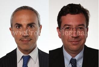 Da sinistra Marco Di Lello (Psi) e Massimiliano Manfredi (Pd)
