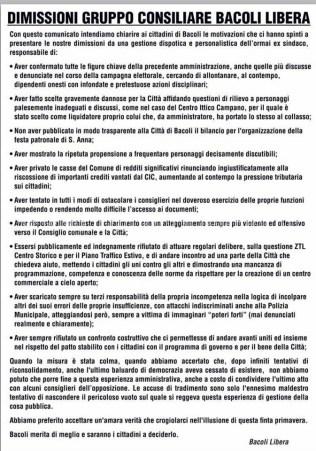 bacoli libera manifesto