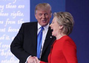 Duello in tv fra Hillary Clinton e Donald Trump, guardateli qui