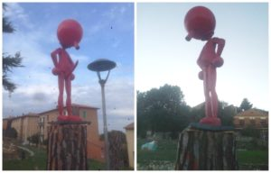 Monumento a Pinocchio, troppo superdotato, dava scandalo e il sindaco glielo fa tagliare