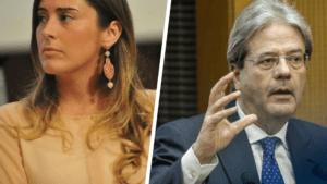 La Boschi canta 1 milione di posti, velina rossa boicotta Gentiloni e Berlusconi vince le elezioni