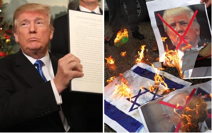 "Le proteste non fermano Trump: ""Gerusalemme è capitale di Israele"". Hamas: ""Aperte porte inferno"""