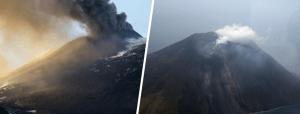 Lo Stromboli e L'Etna sbuffano: cenere, fumo e vibrazioni