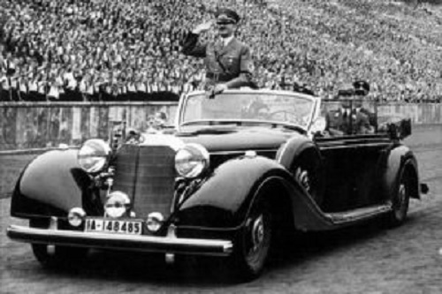 Mercedes 770k di Adolf Hitler all'asta: per il proprietario 7 milioni sono pochi