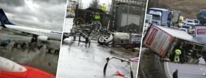 Tempesta Friederike colpisce il Nord Europa: vittime in Olanda, Germania e Belgio. Trasporti nel caos