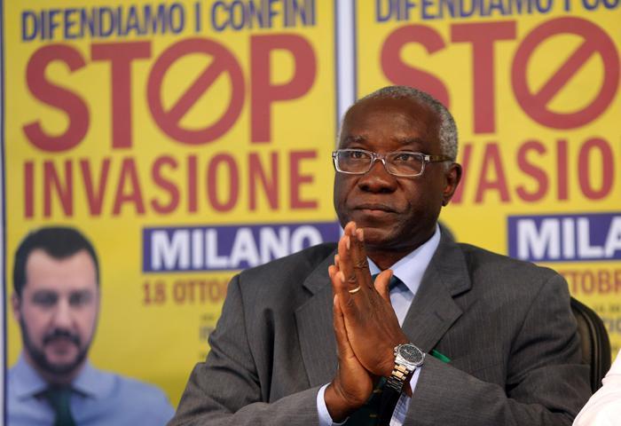 Tony Iwobi, il primo senatore di colore della storia d'Italia è iscritto alla Lega