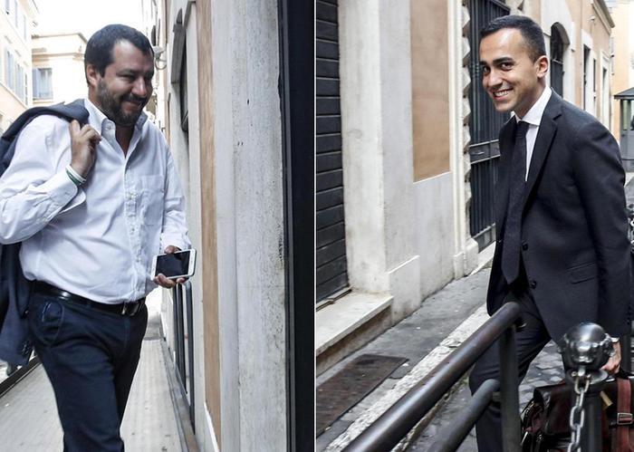 """Governo, Salvini-Di Maio: """"Fatti significativi passi avanti"""". Chiedono al Colle tempo fino a lunedì"""
