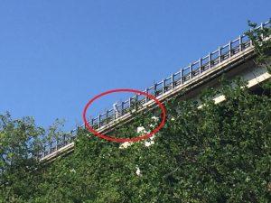 Francavilla al Mare (Chieti): lancia la figlia dal viadotto della A14, poi si butta anche lui