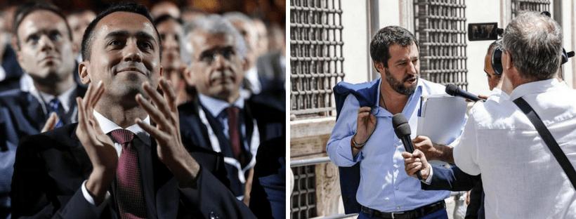 """Di Maio: """"L'Iva non aumenterà, via spesometro e redditometro"""". Salvini sulla questione Russia: """"Ho idee chiare su veto a sanzioni contro Mosca"""""""