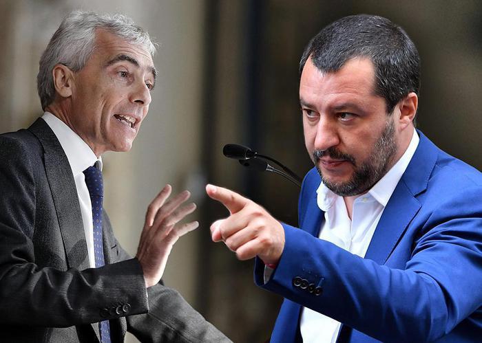 """Migranti, continua lo scontro, Boeri: """"Servono migranti regolari"""". Salvini: """"Vive su Marte?"""""""