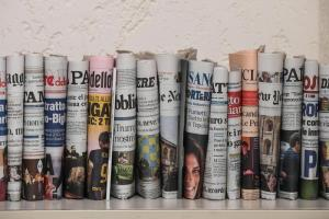 Vendite giornali, chi ha perso più copie dal 2008 al 2018 e chi si è (quasi) salvato
