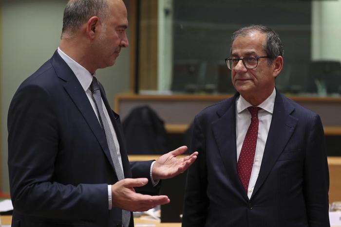 """Manovra, Moscovici: """"Dialogo, ma senza intesa via a sanzioni"""". Tria: """"Qualche disaccordo"""""""
