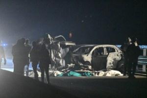 Sondrio, auto contromano: 6 morti nello scontro frontale sulla statale