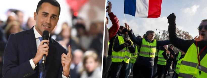 """Di Maio ai gilet gialli: """"Non mollate, i 5 Stelle sono con voi"""". Salvini: """"Sostegno alla protesta ma no alla violenza"""""""
