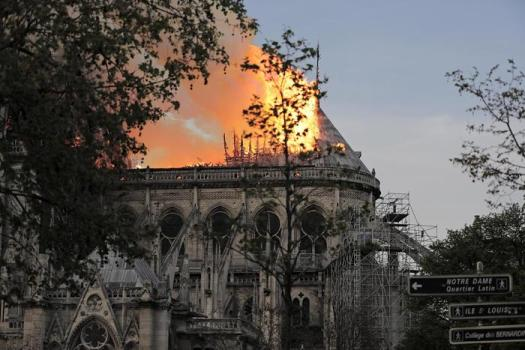 Francia, trovate tracce di piombo nel sangue di un bambino dopo l'incendio di Notre Dame