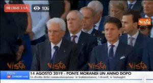 Ponte Morandi, commemorazione e proteste: Genova si ferma per il minuto di silenzio alle 11,36