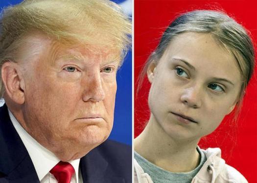 """Trump sfida Greta: """"Basta profeti di ventura, hanno stufato"""""""