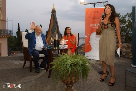 Nella foto Pupi Avati ed Antonella Ferrara