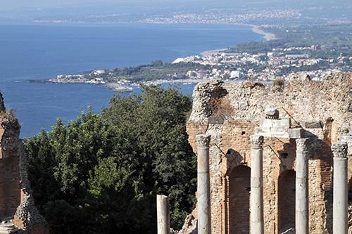 Panorama di Taormina (Ph. Giampiero Caminiti)