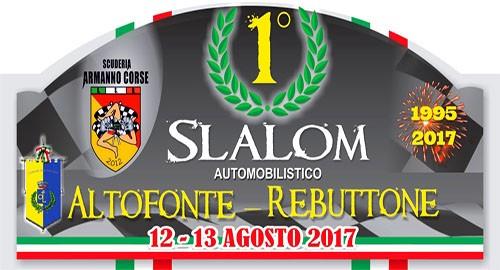 Aci Sport Calendario.1 Slalom Altofonte Rebuttone Il 12 E 13 Agosto La Corsa