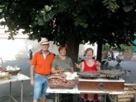 ossonainsiemepicc I volontari di Ossona Insieme alla Sagra della Cipolla Piazza Litta Prima Pagina