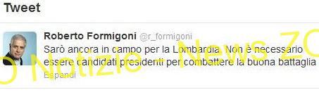 Regione Lombardia: vince la Lega nord e si va al voto