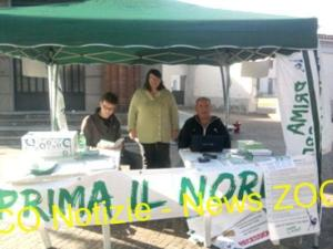 Regione Lombardia: Lega Nord in piazza per le primarie a Ossona