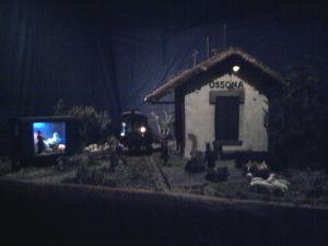 presepe Ossona, il presepe è la stazione del Gamba de Legn Magazine Turismo