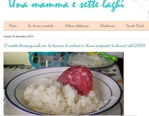 Il risotto alla parmigiana con la Lamina di salame