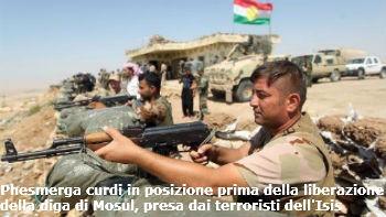 La strada sopra la Diga di Mosul  Alcuni terroristi dell'Isis erano riusciti a prenderne possesso