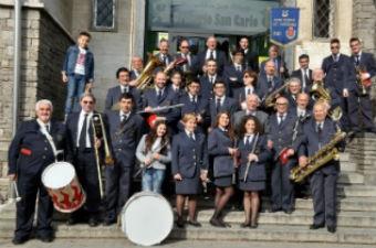 La banda di Rho festeggia Santa Cecilia, patrona dei musica
