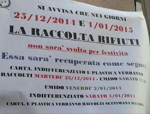 rifiuti-300 Ricordatevi che a Natale non passano a raccogliere i rifiuti Piazza Litta Prima Pagina